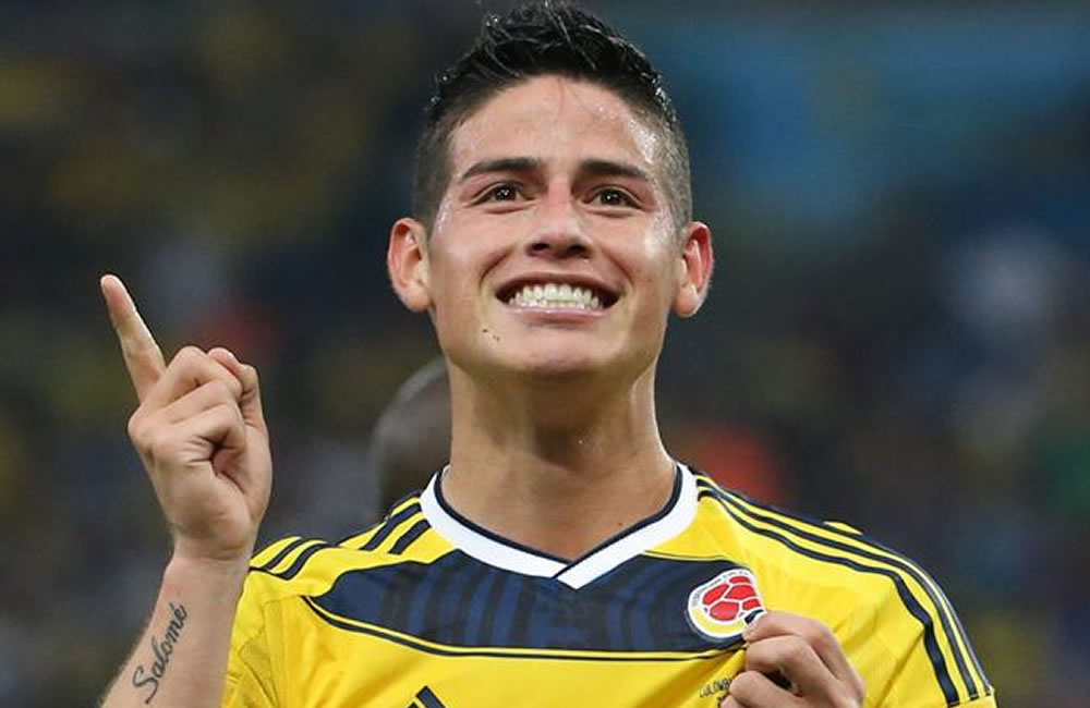 Manchester United turned down Colombia's James Rodríguez for £5m ...