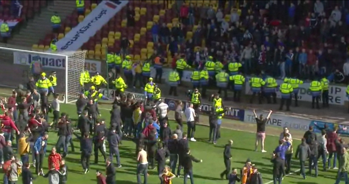 motherwell vs rangers - photo #19
