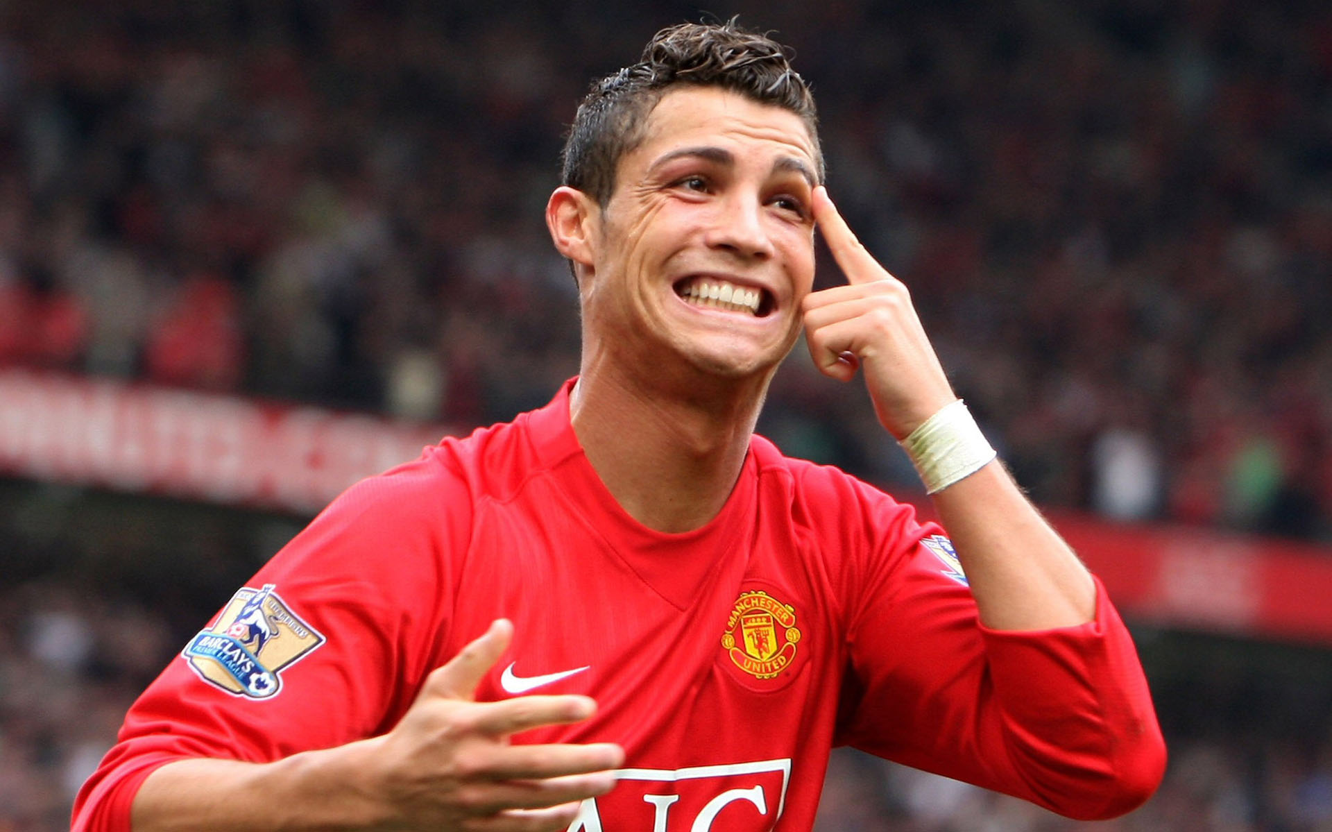 From the vault  8 years ago today Ronaldo scores his one and only hat-trick  for Man United 2a443492728