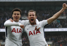 Harry-Kane-Dele-Alli-celebrate-goal-Arsenal